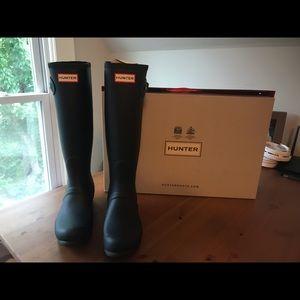 NWT 7 Women's original tall hunter boots